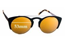 Sunglass Fix Replacement Lenses for Derek Cardigan Firefly - 53mm Wide