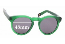 Sunglass Fix Replacement Lenses for Dick Moby LHS - 48mm wide