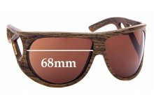 Sunglass Fix Replacement Lenses for Diesel DS0043 - 68mm Wide