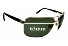 Sunglass Fix Replacement Lenses for Dillon George - 63mm Wide