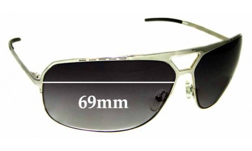 Sunglass Fix Replacement Lenses for Christian Dior Homme 0087/S- 69mm Wide