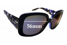 Sunglass Fix Replacement Lenses for Christian Dior Lady Lady 1 - 56mm Wide