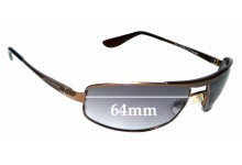 Sunglass Fix Replacement Lenses for Dirty Dog Ace - 64mm wide