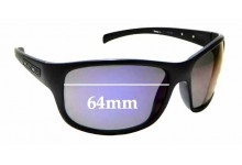Sunglass Fix Replacement Lenses for Dirty Dog Phin - 64mm wide