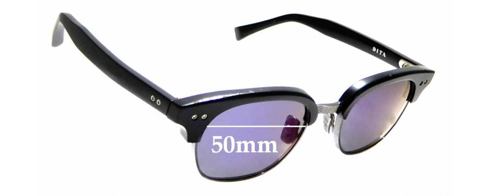 bb085908290 Sunglass Fix Replacement Lenses for Dita Statesman Two - 50mm wide ...