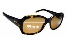 Sunglass Fix Replacement Lenses for DKNY DY4048 - 55mm wide