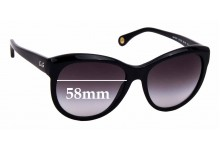 Sunglass Fix Replacement Lenses for Dolce & Gabbana DG3061 - 58mm wide