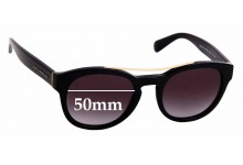 Sunglass Fix Replacement Lenses for Dolce & Gabbana DG4274 - 50mm wide