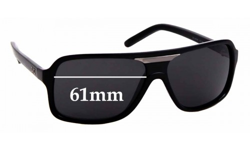 Sunglass Fix Replacement Lenses for Dolce & Gabbana D&G 8068 - 61mm wide