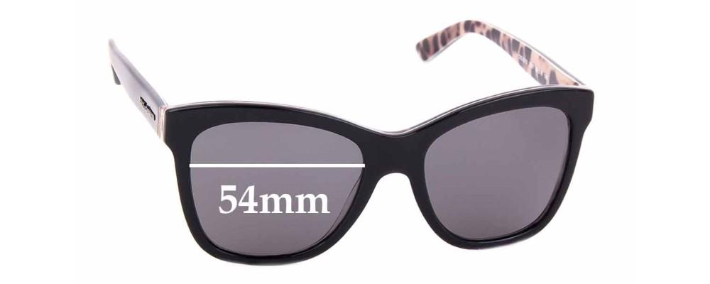 Sunglass Fix Replacement Lenses for Dolce & Gabbana DG3212 - 54mm wide
