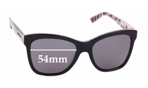 Sunglass Fix Replacement Lenses for Dolce & Gabbana DG3212 - 54mm wide