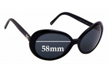 Sunglass Fix Replacement Lenses for Dolce & Gabbana DG4076 - 58mm wide