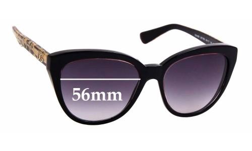 Sunglass Fix Replacement Lenses for Dolce & Gabbana DG4250 - 56mm wide