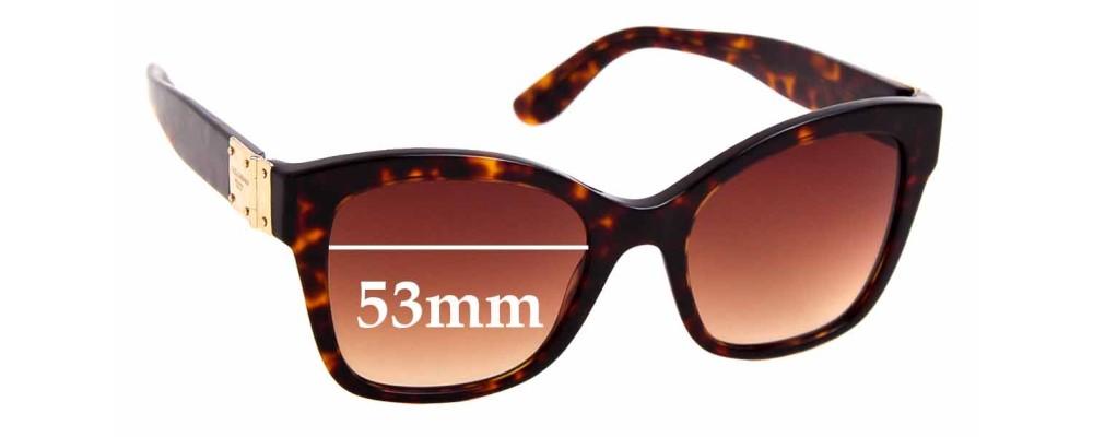 Sunglass Fix Replacement Lenses for Dolce & Gabbana DG4309 - 53mm wide