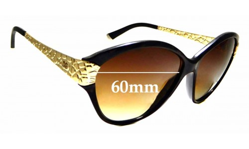 Sunglass Fix Replacement Lenses for Dolce & Gabbana DG4130 - 60mm wide