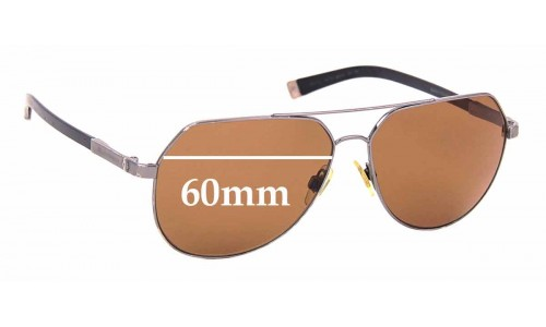 Sunglass Fix Replacement Lenses for Dolce & Gabbana DG2133 Basalto Collection - 60mm wide
