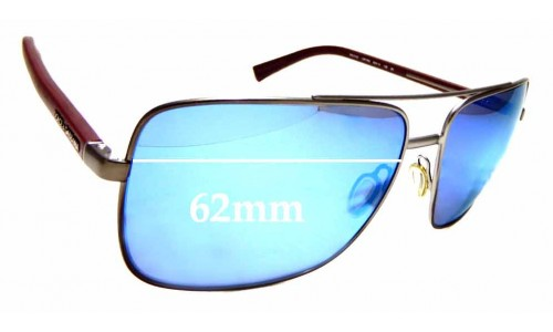 Sunglass Fix Replacement Lenses for Dolce & Gabbana DG2142 - 62mm wide