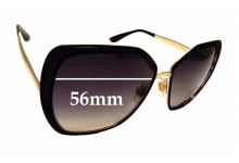 Sunglass Fix Replacement Lenses for Dolce & Gabbana DG2197 - 56mm wide