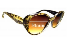 Sunglass Fix Replacement Lenses for Dolce & Gabbana DG4198 - 54mm wide