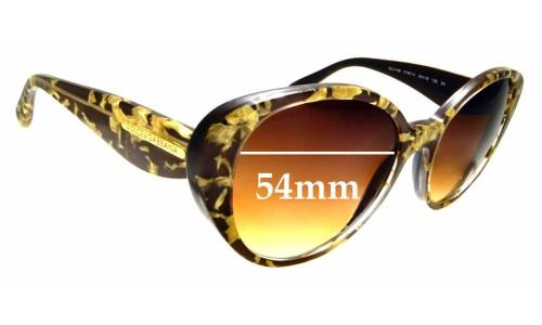 Sunglass Fix Replacement Lenses for Dolce & Gabbana DG4198 - 54mm wide