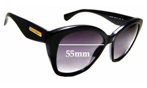 Sunglass Fix Replacement Lenses for Dolce & Gabbana DG 4220 - 55mm wide