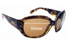 Sunglass Fix Replacement Lenses for Dolce & Gabbana D&G 8066 - 61mm wide