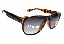 Sunglass Fix Replacement Lenses for Dragon Marquis - 55mm wide
