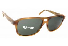 Sunglass Fix Replacement Lenses for Dunhill D3001 - 58mm wide