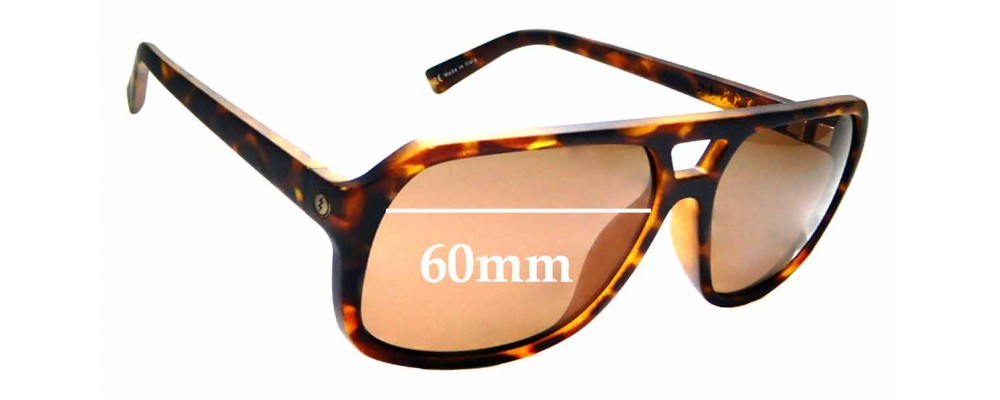 1c749825aa7 Sunglass Fix Replacement Lenses for Electric Dude - 60mm Wide ...