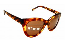 Sunglass Fix Replacement Lenses for Ellery Sun Rx 04 - 52mm Wide