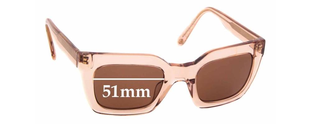 Sunglass Fix Replacement Lenses for Ellery Sun Rx 09 - 51mm Wide