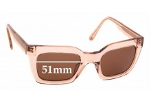 Sunglass Fix Replacement Lenses for Ellery Sun Rx 09 - 51mm Wide