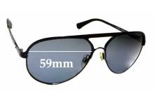 Sunglass Fix Replacement Lenses for Emporio Armani EA 2004 - 59mm wide