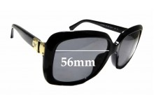 Sunglass Fix Replacement Lenses for Emporio Armani EA4008F - 56mm Wide