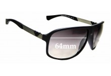 Sunglass Fix Replacement Lenses for Emporio Armani EA 4029 - 64mm Wide