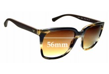 Sunglass Fix Replacement Lenses for Emporio Armani EA 4049 - 56mm wide