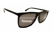 Sunglass Fix Replacement Lenses for Emporio Armani EA 4095 - 56mm wide