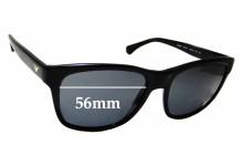 Sunglass Fix Replacement Lenses for Emporio Armani EA4041 - 56mm Wide
