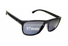 Sunglass Fix Replacement Lenses for EMPORIO ARMANI EA 4087 - 57mm wide