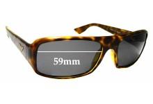Sunglass Fix Replacement Lenses for EMPORIO ARMANI EA 9665/S - 59mm wide