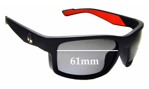 Sunglass Fix Replacement Lenses for Epoch Eyewear Adam Sandoval Rides ASR - 61mm wide