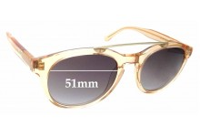 Sunglass Fix Replacement Lenses for Epokhe Anteka - 51mm Wide