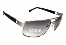 Sunglass Fix Replacement Lenses for Ermenegildo Zegna SZ 3117 - 62mm wide