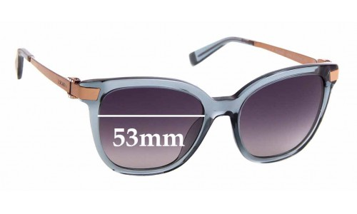 Sunglass Fix Replacement Lenses for Escada SES 493S - 53mm Wide