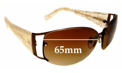 Sunglass Fix Replacement Lenses for Fendi FS483 - 65mm - Professional Install Recommended