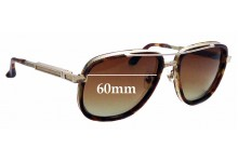 Sunglass Fix Replacement Lenses for Frency & Mercury The Hero - 60mm Wide