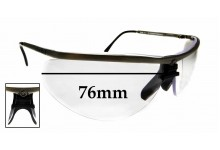 Sunglass Fix Replacement Lenses for Gargoyles Legends *Please measure as there are multiple sizes* - 76mm wide
