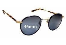 Sunglass Fix Replacement Lenses for Garrett Leight Wilson - 46mm wide