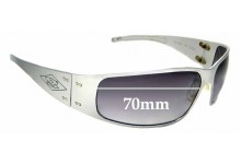 Sunglass Fix Replacement Lenses for Gatorz Quantum - 70mm wide