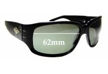 Sunglass Fix Replacement Lenses for Gatorz Saphron - 62mm wide